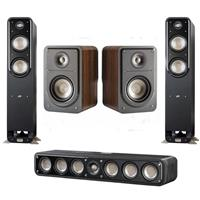 Deals on Polk Audio 2x S55 Medium Tower Speakers/S15 Bookshelf Speakers