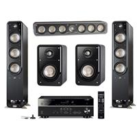 Deals on Polk Audio Home Theater 2x S60 Tower/S35 Center/S15 Speaker