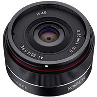 Deals on Rokinon 35mm f/2.8 AF Ultra Compact Lens for Sony E Mount