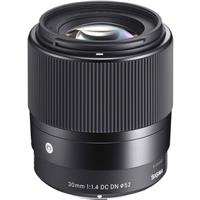 Sigma 30mm f/1.4 DC DN Contemporary Lens for Sony Cameras Deals