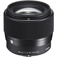 Deals on Sigma 56mm f/1.4 DC DN Contemporary Lens for Sony Cameras