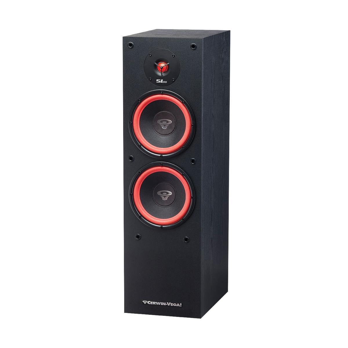 "Cerwin Vega SL-28 8"" 2-Way Floor Speaker, 32Hz-26kHz, 300 Peak, Single"