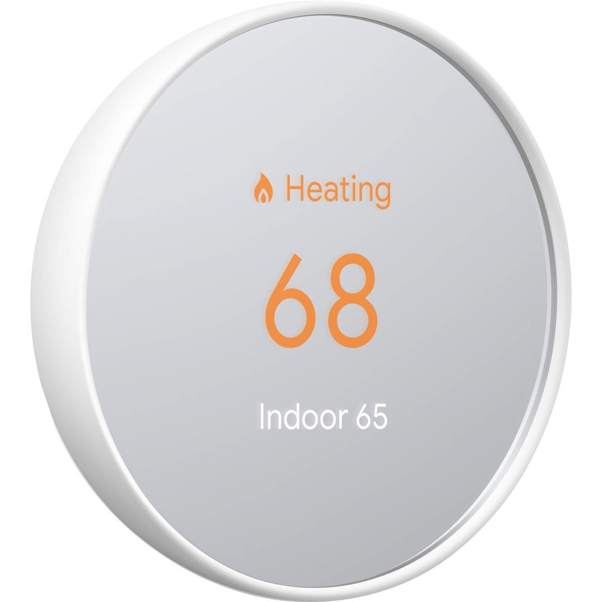 Google Nest Nest Thermostat, Snow