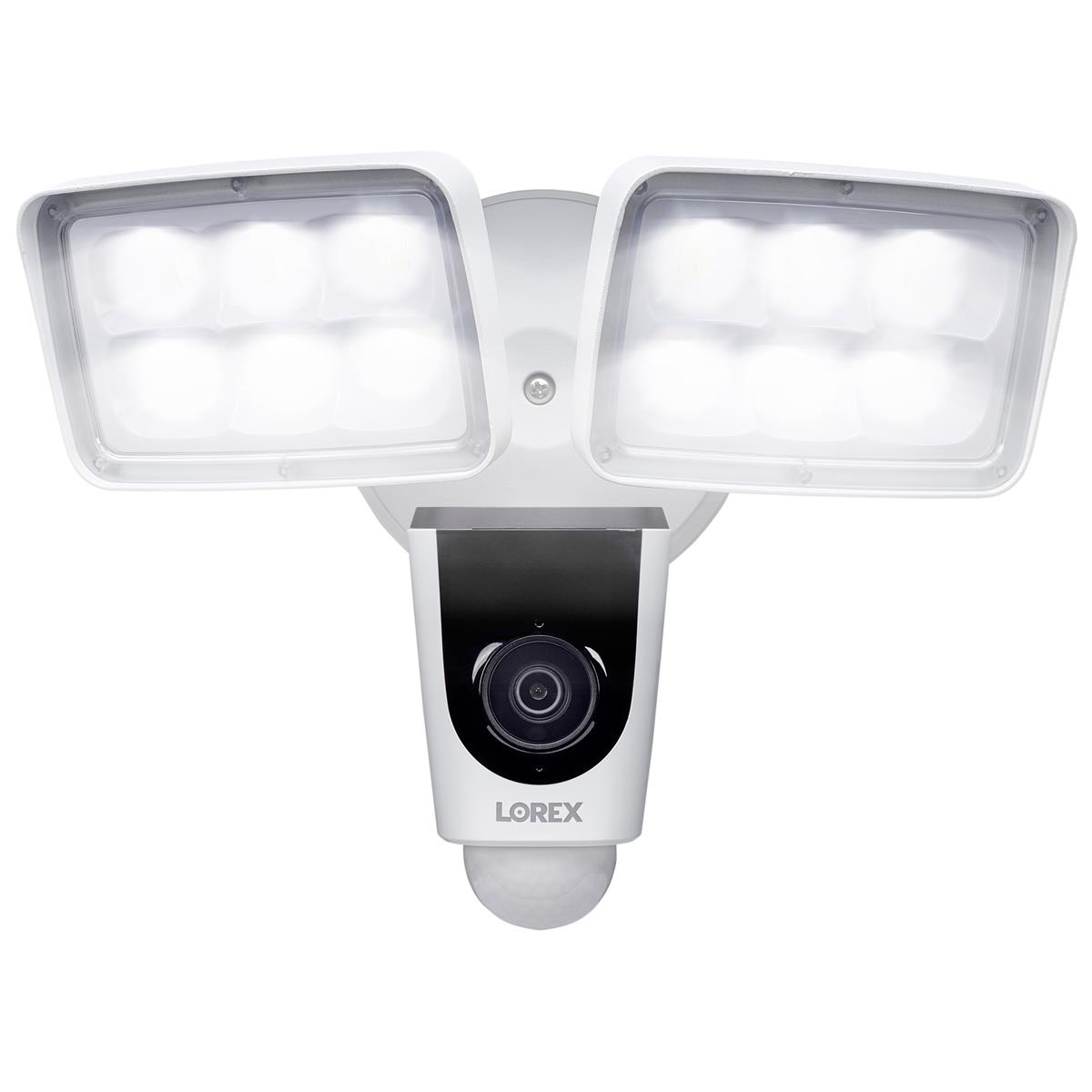 Lorex V261LCD-E 2MP 1080p 2-Way Audio Indoor/Outdoor Wi-Fi Floodlight Camera