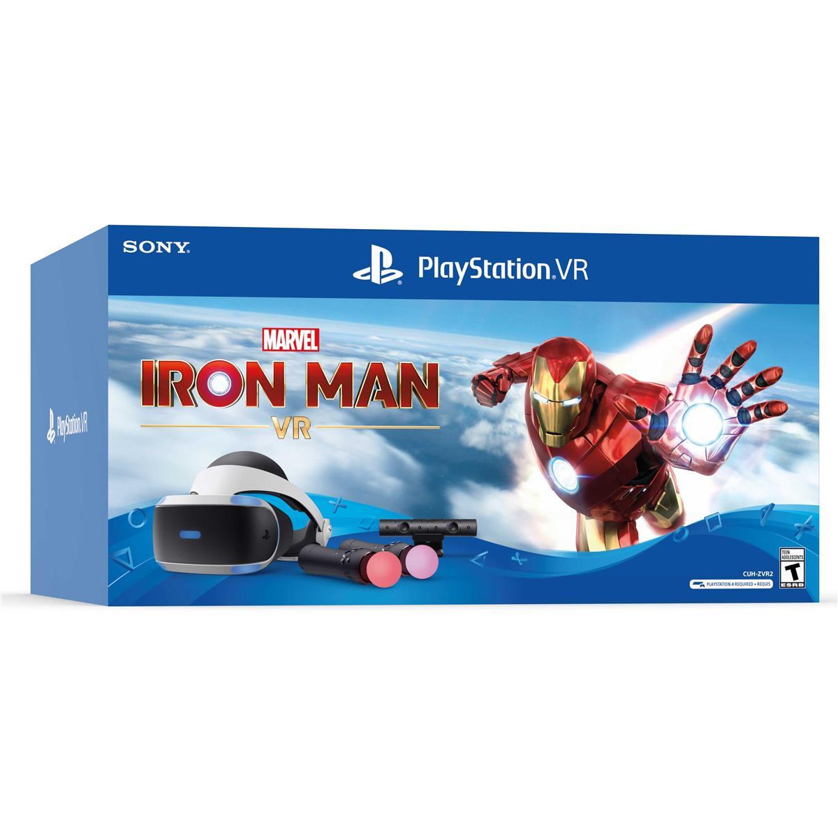 PlayStation Marvel's Iron Man VR Bundle