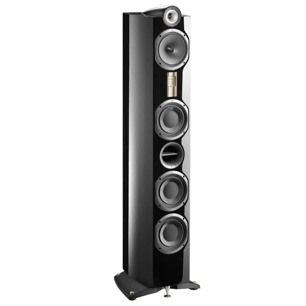 Triangle Genese Lyrr HiFi Floor Standing Speaker, Black, Single